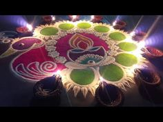 Rangoli Designs Latest, Rangoli Designs Flower, Rangoli Ideas, Rangoli Designs Diwali, Diwali Rangoli, Beautiful Rangoli Designs, Colour Rangoli, Peacock Rangoli, Free Hand Rangoli Design