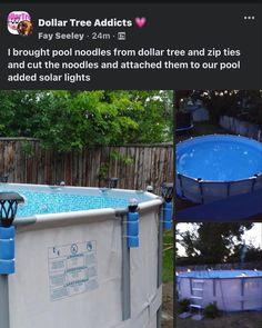 Splash Swimming Pool, Swimming Pools, Solar Pool Lights, Diy Pool Heater, Pool Deck Plans, Pool Hacks, Pool Noodles, In Ground Pools, Outdoor Projects