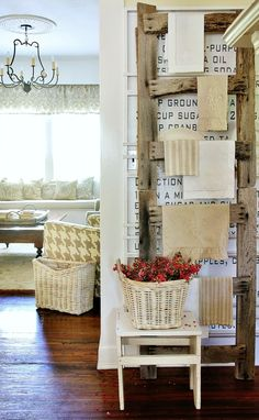 Decorating With Barn Wood #DecoratingWithBarnwood, #BarnWood, #BarnWoodDIY