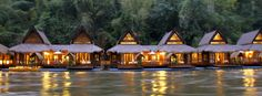 New Floating Resort in Kanchanaburi Thailand - The FloatHouse River Kwai Resort