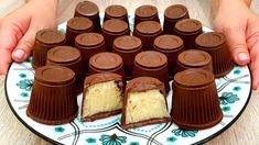 Chocolates, 4 Ingredient Desserts, No Bake Chocolate Cheesecake, Condensed Milk, Make Your Own, Food To Make, Coconut, Pudding, Pasta