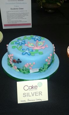 This was my entry for March Cake International