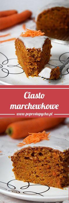 Ciasto marchewkowe! :) http://poprostupycha.com.pl/ciasto-marchewkowe-2/ #poprostupycha #wypieki #ciasto