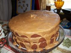 Blackberry Jam Cake with Caramel Icing  This my mother-in-law's recipe she has done for years