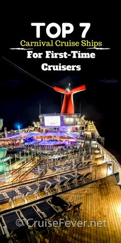 Here are the 7 top-rated ships with Carnival Cruise Line, each with its own charm. Packing For A Cruise, Cruise Travel, Cruise Vacation, Vacation Ideas, Best Cruise, Cruise Port, Cruise Tips, Legend Of The Seas, Carnival Legend