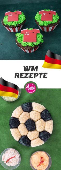 Passend zur WM findet ihr hier leckere WM-Rezepte. Super für jede WM-Party!