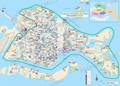 Map of Venice produced by PCGraphics. See more of our maps on our website http://www.pcgraphics.uk.com or read our blog http://www.pcgraphics.uk.com/blog/