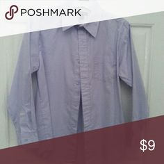 George Boys Long Sleeve Shirt Light Purple Boys Long Sleeve Button Up Oxford Shirt with Collar. Cotton & Polyester. Size 10/12. Used once. George Shirts & Tops Button Down Shirts