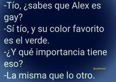 Alex es gay