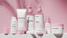 EMVY Skincare Comes With a Clean Look The Dieline Packaging Branding Design Innovation News Skincare Packaging, Beauty Packaging, Cosmetic Packaging, Pretty Packaging, Corporate Design, Corporate Branding, Business Design, Business Ideas, Logo Branding