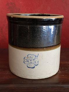 Robinson Ransbottom Number 2 Crown Crock 2 Gallon Antique