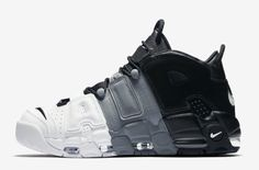 Official Images: Nike Air More Uptempo Tri-Color