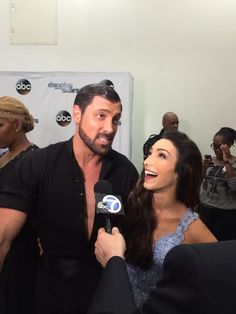 Maks & Meryl asked about the 'nearly kiss' during their Foxtrot Beautiful Love Stories, Beautiful One, Beautiful People, Beautiful Places, Dancing With The Stars Pros, Young The Giant, Meryl Davis, Maksim Chmerkovskiy, Partner Dance