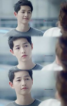 How adorable! #Songjoongki #Descendantsofthesun