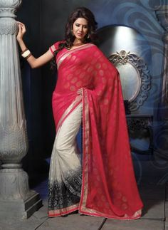 cd6b0c431c3 Sensational Marvelous Fancy Saree MJ 546 17234 - Online Shopping for Designer  Sarees by India saree mart