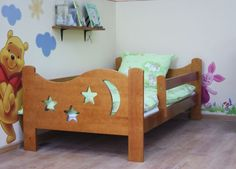 Moon N Stars Toddler Bed