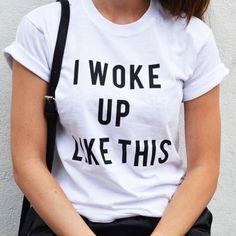 Cheap Desperté como esta camiseta Top Beyonce novio impecable de moda T Shirt camiseta para hombre y mujeres camisa de algodón 100%, Compro Calidad Camisetas directamente de los surtidores de China:          Mujeres/hombres Andrea Pirlo NO fiesta Juventus Letras Imprimir camiseta de algodón ocasional camisa Blanca Fas