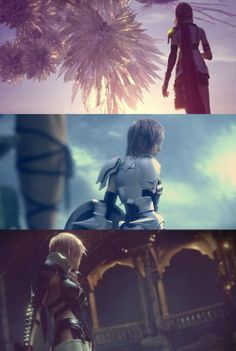 Lightning (Claire) Farron through the series