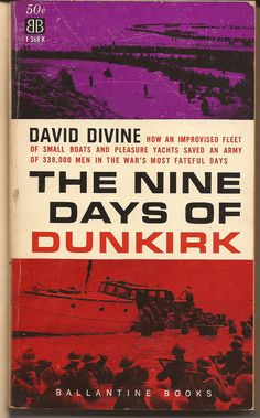 Ballantine David Divine Nine Days of Dunkirk by PurkeysPaperbacks, $5.00