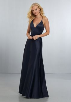 Morilee Bridesmaids 21573 A-Line Satin Bridesmaid Dress
