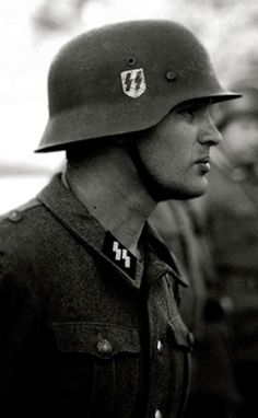 Image result for ss soldier in helmet