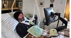 Ο κλινήρης μοναχός Σωφρόνιος, ο οποίος πάσχει από την τερματική Νόσο Κινητικού Νευρώνος, παραχώρησε ...