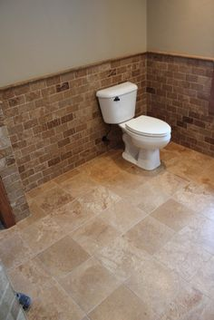 Tumbled Travertine Subway Tile Backsplas Design, Pictures, Remodel, Decor and Ideas - page 5  Subway!