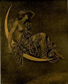 """Luna"" Evelyn De Morgan"