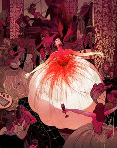 The End of the End of Everything by Dale Bailey is an sf/horror novelette about the quickly coming end of the world. The gorgeous art is by VICTO NGAI