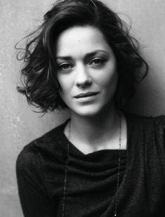 Idée coupe courte : I love you my perfect french bob | Marion Cotillard | GreaterThanExpected