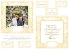Posh Mice Garden Golden Wedding Anniversary Square Card  on Craftsuprint - Add To Basket!