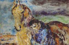 Jack Butler Yeats My beautiful, my beautiful painted in 1953 Kensington School, Jack B, Irish Culture, Irish Art, Pre Raphaelite, Contemporary Paintings, Butler, Sculptures, My Arts