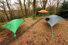 Tentsile - The World's Most Versatile Tent @Poshin Yeye  asi ya no dormimos sobre calabazas jajajaj