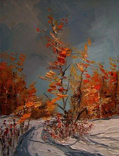 Justyna Kopania ~ Polish Knife painter