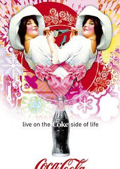 Las Pin Up y La marca CocaCola