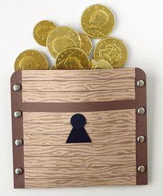 Parable of the hidden treasure treasure chest bag