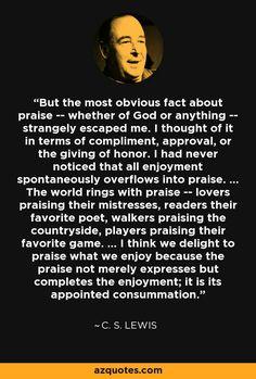 C.S. Lewis on Joy