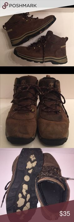 c081fb45b0d8 Big Boys Timberland Boots 6.5 Hiking Waterproof