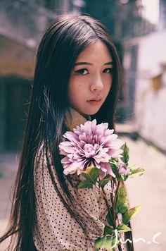 pretty flower ulzzang