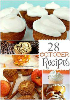 28 October Fall Recipes
