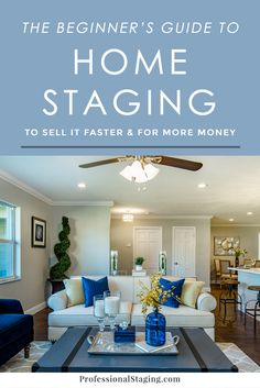 "In today's market, it's more important than ever for your home to stand out from the competition. Putting effort into how it's ""packaged"" will create a stronger first impression, which leads to higher offers and a quicker sale. That's what home staging is all about. As home stagers,"