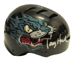 Tony Hawk Autographed Huckjam Series Skateboard Helmet, PSA/DNA Authenticated, Proof Photo. This is a brand-new Tony Hawk signed Bell Huckjam series skateboard helmet. Tony signed the black helmet in silver paint pen. The helmet includes a PSA/DNA certificate of authenticity, with PSA/DNA authentication certification #X37263. These items have been certified authentic by PSA/DNA. The most reliable 3rd party autograph authenticator in america. The item will come with a PSA/DNA Certificate of…