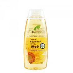 Dr Organic - Gel de ducha Vitamin E.  Precio: 6,45€/250ML