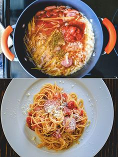 Pasta best recipe ever 42 Ideas Spinach Recipes, Pasta Recipes, Recipe Pasta, Portuguese Recipes, Italian Recipes, Bacon Lasagna, One Pot Meals, Easy Meals, Boyfriend Food