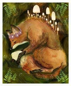 fox_mushrooms_EvaLamberty