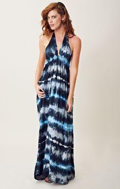 Blu Moon Halter Dress