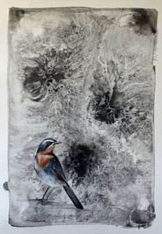 To Sing Sweeter (IV) Figurative Art, Paper Art, My Arts, Joy, Birds, Painting, Animals, Papercraft, Animales