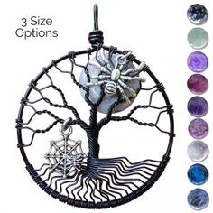 Spider Tree of Life Pendant