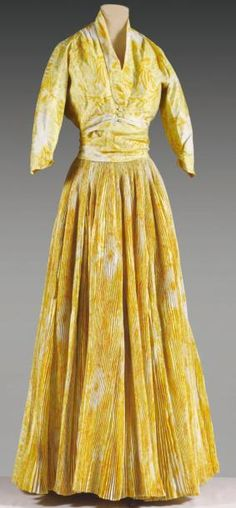 Christian Dior, haute couture, No. 16335 and 3724, Spring - Summer 1953