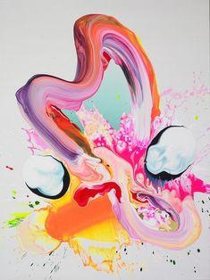 Brilliant brushstrokes :::: ginger-snapped.tumblr.com